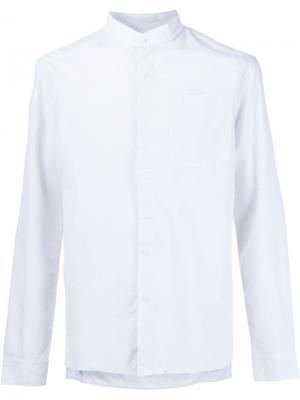 Рубашка с воротником-стойкой Ty-Lr. Цвет: белый
