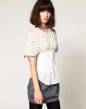 Unconditional Рубашка с капюшоном. Цвет: белый