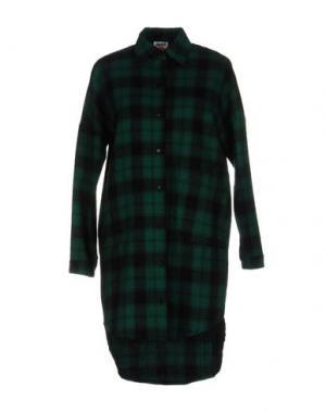 Короткое платье FOLLOW US. Цвет: зеленый