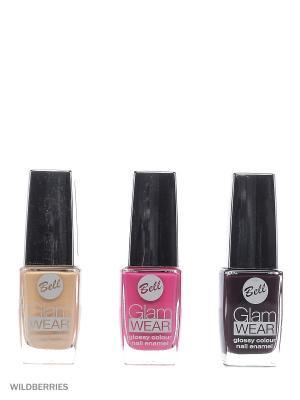 Bell Товар поверхностный лак secretale uv top coat, для ногтей gel nail enamel. Цвет: прозрачный, красный, бирюзовый