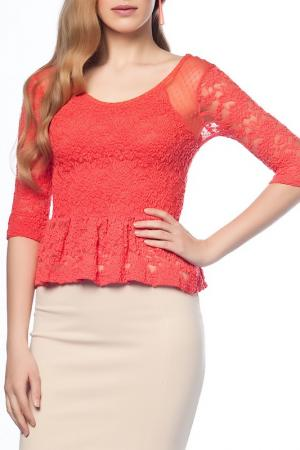 Блуза Dilvin. Цвет: красный