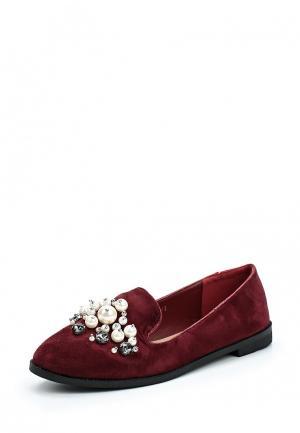 Лоферы Max Shoes. Цвет: бордовый