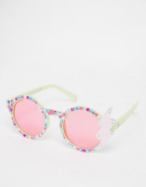 Spangled Солнцезащитные очки с молнией