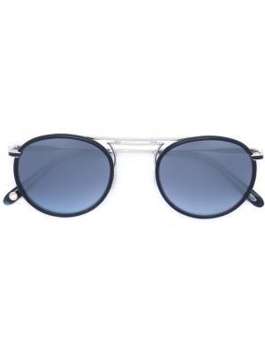 Солнцезащитные очки Cordova Garrett Leight. Цвет: синий