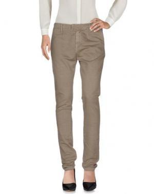 Повседневные брюки SEAL KAY INDEPENDENT. Цвет: голубиный серый