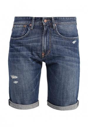 Шорты джинсовые Cortefiel. Цвет: синий