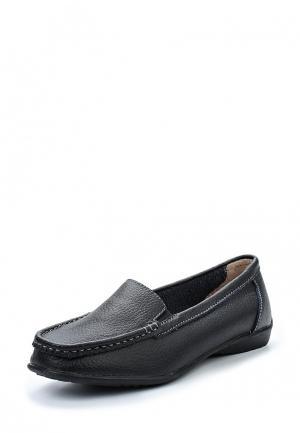 Мокасины Zenden Comfort. Цвет: черный