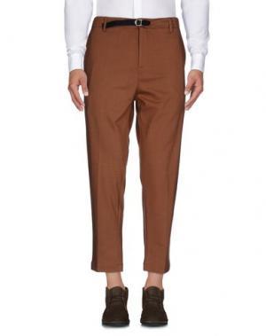 Повседневные брюки ..,BEAUCOUP. Цвет: коричневый