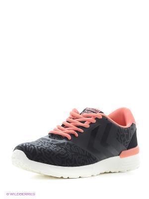 Кроссовки HUMMEL ZERO CPH STREET. Цвет: черный, розовый, белый