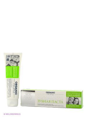 Паста зубная Безупречное дыхание , 100гр ORGANIC PEOPLE. Цвет: белый
