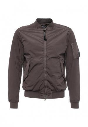 Куртка утепленная C.P. Company. Цвет: серый