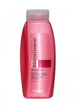 Шампунь для окрашенных волос Brelil Professional. Цвет: розовый