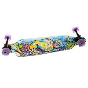 Скейт мини круизер  Su3 Kraken Longboard Blue/Purple 10(25.4 см) Dusters