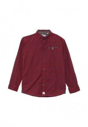 Рубашка E-Bound. Цвет: красный