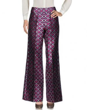 Повседневные брюки DAIZY SHELY. Цвет: фиолетовый