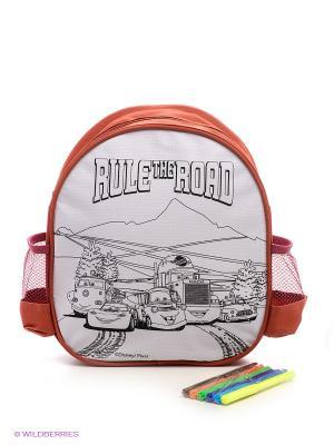 Набор для раскрашивания рюкзака  Тачки Фабрика Фантазий. Цвет: белый