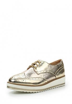 Ботинки Marquiiz. Цвет: золотой