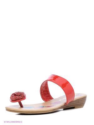 Пантолеты Amazonga. Цвет: красный