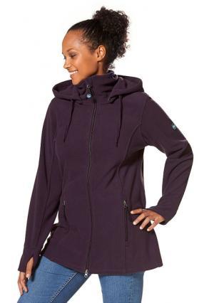 Куртка POLARINO. Цвет: цвет баклажана