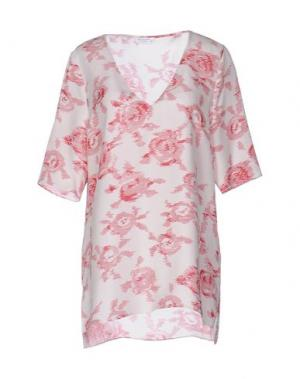 Блузка EQUIPMENT FEMME. Цвет: красный