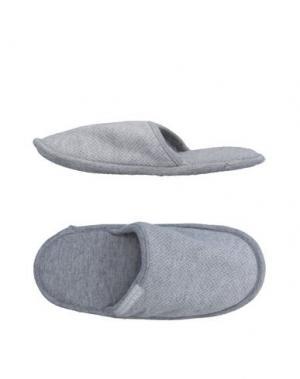 Домашние туфли GRIGIO PERLA. Цвет: серый