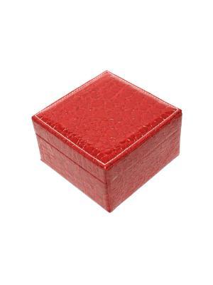 Шкатулка Eleon. Цвет: темно-красный