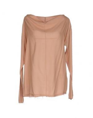 Блузка NOVEMB3R. Цвет: телесный