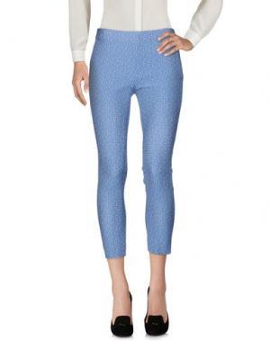 Повседневные брюки BRUNO MANETTI. Цвет: синий