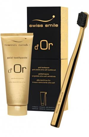Набор для гигиены полости рта D'Or Swiss Smile. Цвет: бесцветный