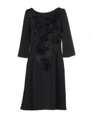 Короткое платье CAILAN'D. Цвет: свинцово-серый