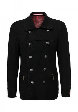 Пальто Marcello Gotti. Цвет: черный