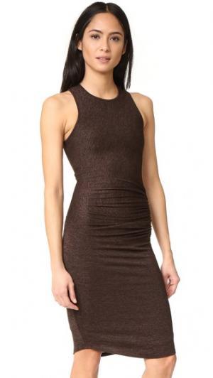 Платье без рукавов Portia Riller & Fount. Цвет: смородина