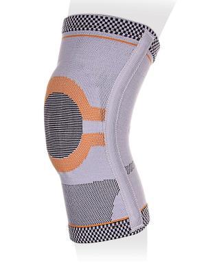 Бандаж  на коленный сустав Ttoman. Цвет: серый