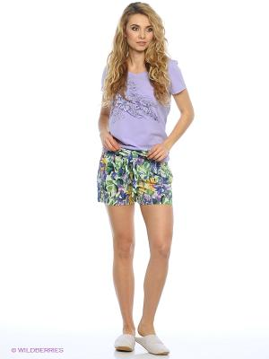 Пижама PELICAN. Цвет: сиреневый