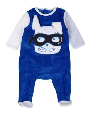 Пижама LITTLE MARC JACOBS. Цвет: синий