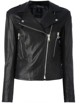 Байкерская куртка Belstaff. Цвет: чёрный
