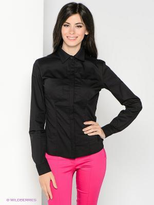 Рубашка SUGARLIFE. Цвет: черный