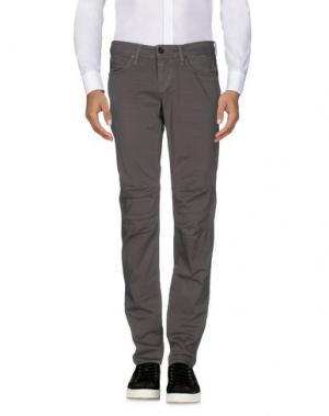 Повседневные брюки MELTIN POT. Цвет: серый