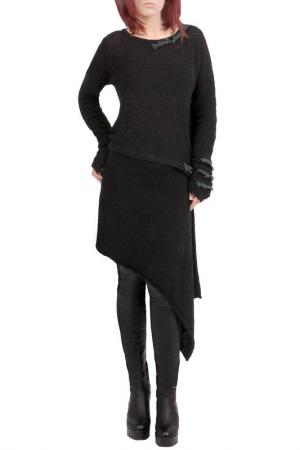 Блуза JUNONA. Цвет: black