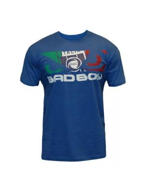 Футболка Bad Boy World Cup Tee - Italy. Цвет: синий