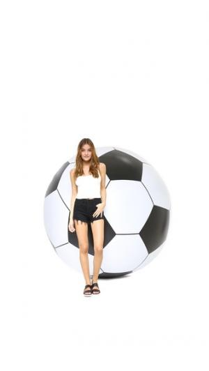 Большой надувной футбольный мяч Gift Boutique. Цвет: черный/белый