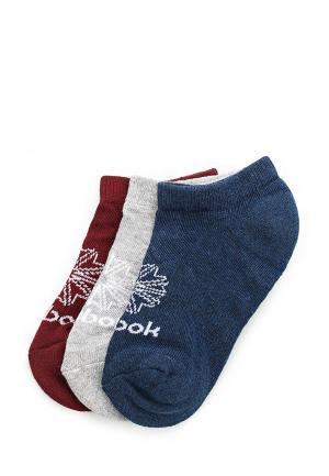 Комплект носков 3 пары Reebok Classics. Цвет: разноцветный