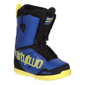 Ботинки для сноуборда  Lashed Ft Blue/Black Thirty Two. Цвет: черный,синий,желтый