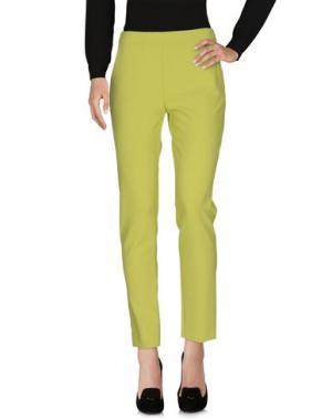 Повседневные брюки MARIA GRAZIA SEVERI. Цвет: светло-зеленый