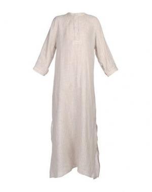 Ночная рубашка THE SLEEP SHIRT. Цвет: бежевый