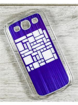 Чехол для телефона Samsung Galaxy S3 GT-I9300/GT-I9300I MACAR. Цвет: сиреневый