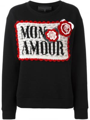 Джемпер Mon Amour Michaela Buerger. Цвет: чёрный