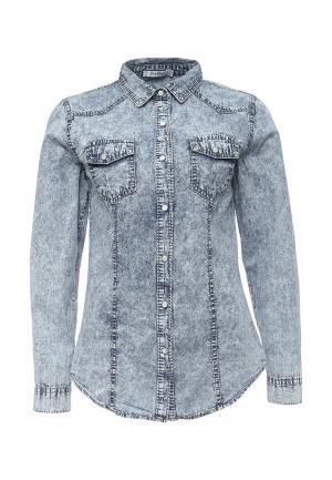Рубашка джинсовая Softy. Цвет: голубой
