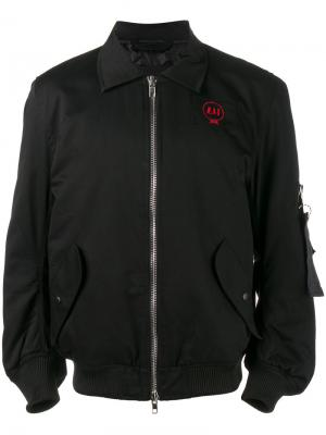 Куртка-бомбер Im OK Liam Hodges. Цвет: чёрный