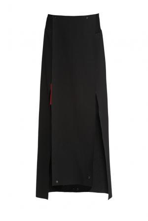 Юбка 156187 A-anika. Цвет: черный